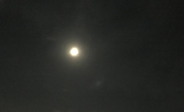 満月の夜…フロストムーン